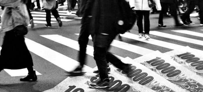 混沌とした日本のイメージ